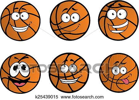 clipart cartooned bola basquetebol caráteres k25439015 busca