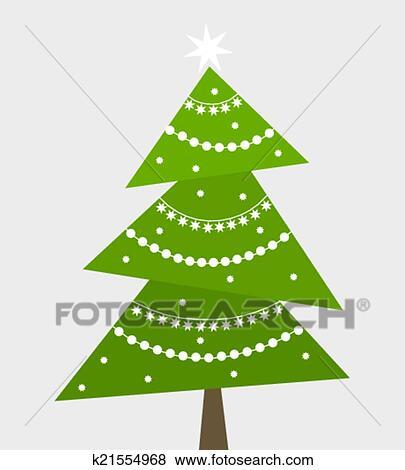 Clip art weihnachtsbaum vektor k21554968 suche clipart poster illustrationen zeichnungen - Weihnachtsbaum vektor ...