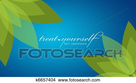 drawings of treat yourself gift certificate k6657404 search clip