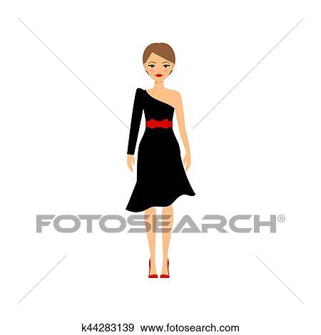 0931f9b1bbdf Clip Art - donna