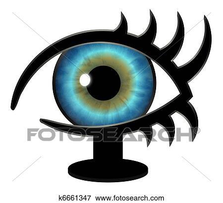 arquivos de ilustração irmão grande olho ligado um levantar