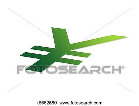 Stock Illustrations Of Perspective Japanese Yen K6662650 Search