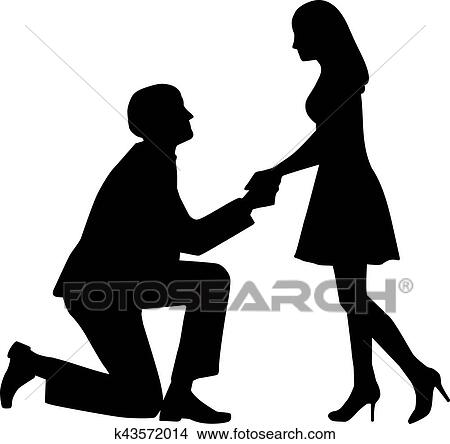 clipart of proposal man on knees asking his wife to marry him rh fotosearch com business proposal clipart project proposal clipart