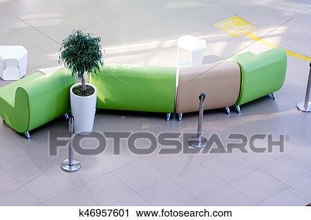 Stock Photography Of View From Above Of Leather Armchairs Sofas