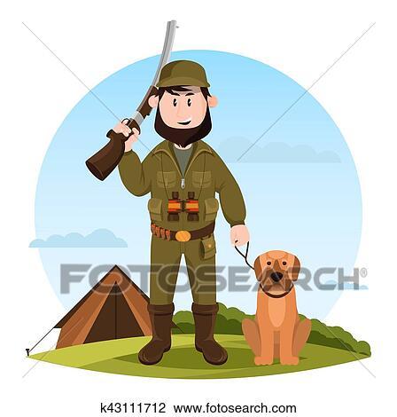 Cane del bull terrier del personaggio dei cartoni animati con un