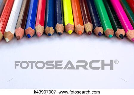 Sfondo Bianco Per Presentazione Diapositive Con Colorito
