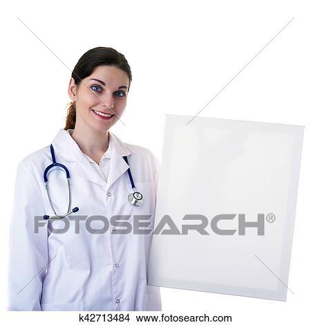 f81bdcc16aaa7 Banque de Photo - docteur féminin