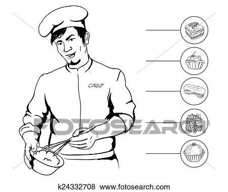 Cook Man Clipart - Png Download (#5793906) - PinClipart