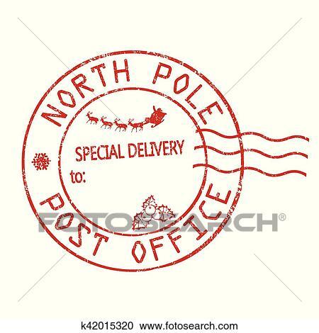 Clipart Polo Nord Ufficio Postale Segno O