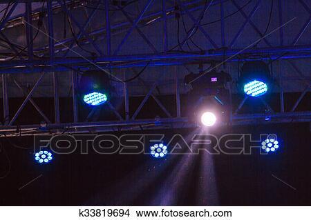 Theatre Stage Lighting Rig