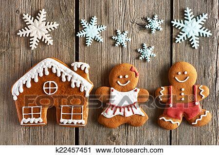 weihnachten lebkuchen p rchen und haus pl tzchen. Black Bedroom Furniture Sets. Home Design Ideas