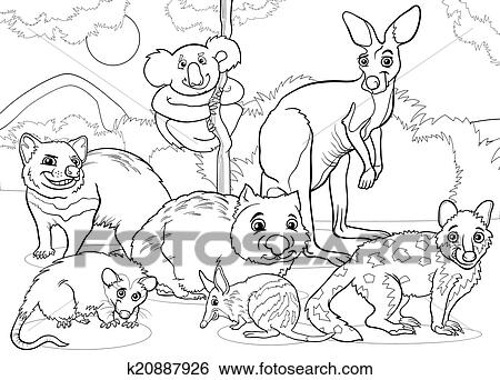 Beste Tiere Färbung Seite Zeitgenössisch - Ideen färben - blsbooks.com