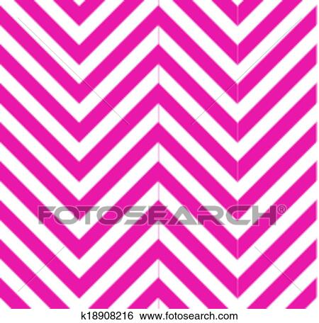Optical illusion with zig zag lines Clip Art
