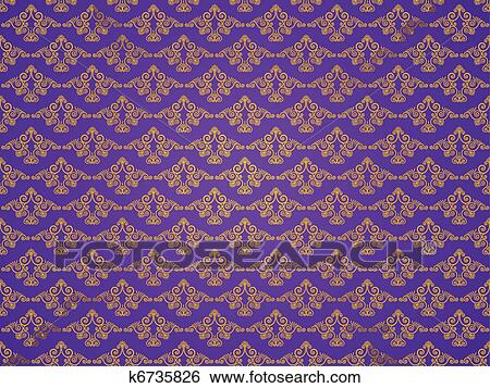 Seamless Gothic Background Clip Art K6735826 Fotosearch