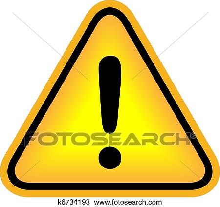 clipart of vector attention exclamation sign k6734193 search clip rh fotosearch com attention clipart png attention clipart png