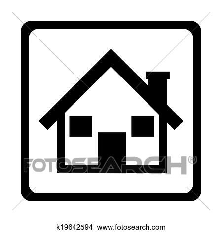Clipart casa disegno k19642594 cerca clipart for Casa disegno
