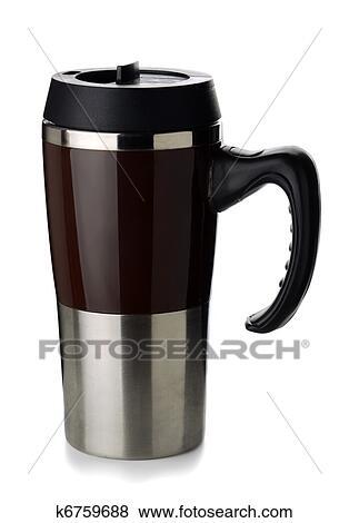 Mug Mug Coffee Thermos Coffee Stock Photo Thermos sCrthQdx