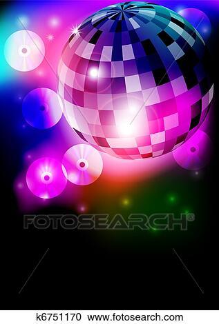 clipart disco bal k6751170 zoek clipart illustratie fresno s