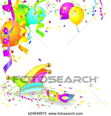 clipart of colorful carnival background k24649973 search clip art