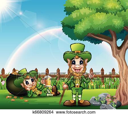Pictures Of Cartoon Leprechauns Photo Album - Sabadaphnecottage