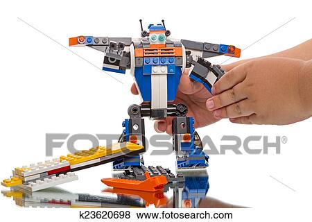 Lego Creator Robot Stock Photo K23620698 Fotosearch
