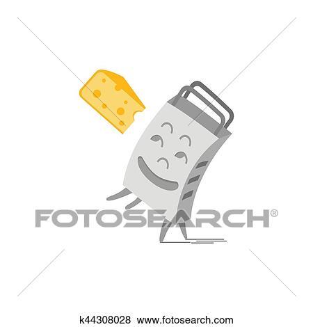 Gitter Für Küchenutensilien clip art - reibe, küchenutensilien k44308028 - suche clipart, poster
