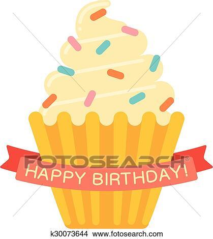 Clipart Of Birthday Cake K30073644