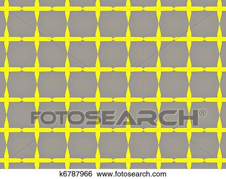 checkered wallpaper Stock Illustration