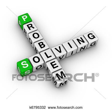 Clip Art Of Problem Solving Crossword K6795332