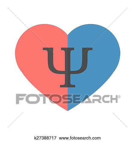 Clip Art Of Psychology Of Relationships Symbol K27388717 Search