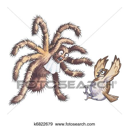 Tarantula Stock Illustration K6822679 Fotosearch