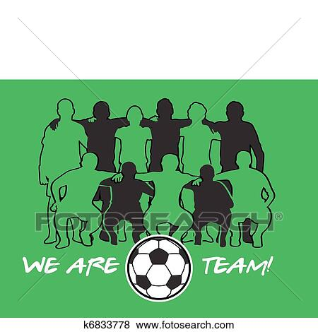 Clipart - equipe futebol k6833778 - Busca de Clip Art 0db2905c444c1