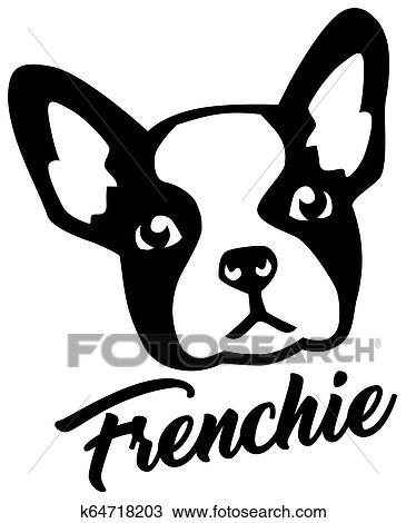 French Bulldog Head Clipart K64718203 Fotosearch