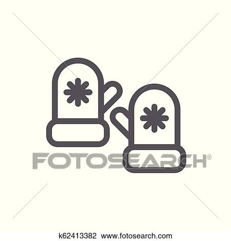 Transparent Pair Of Mittens Clipart - Clip Art - Png Download (#5366141) -  PinClipart