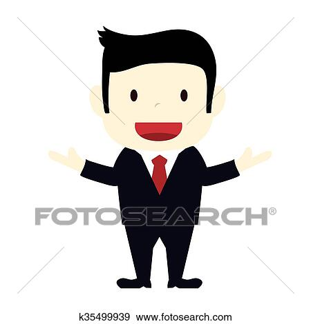 clip art of businessman k35499939 search clipart illustration rh fotosearch com businessman clipart free clipart worried businessman