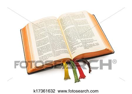 stock photo of open bible k17361632 search stock photography