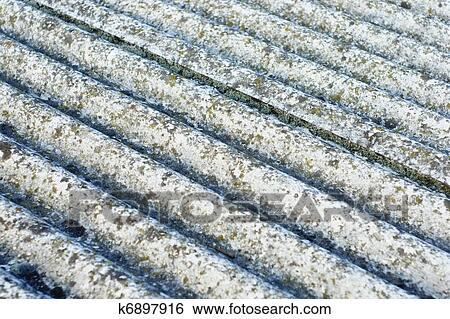 Asbest Dach Eternit Stock Fotograf K6897916 Fotosearch