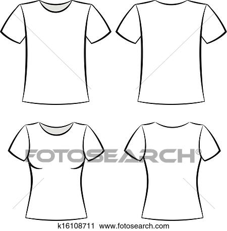 clipart of t shirt template k16108711 search clip art