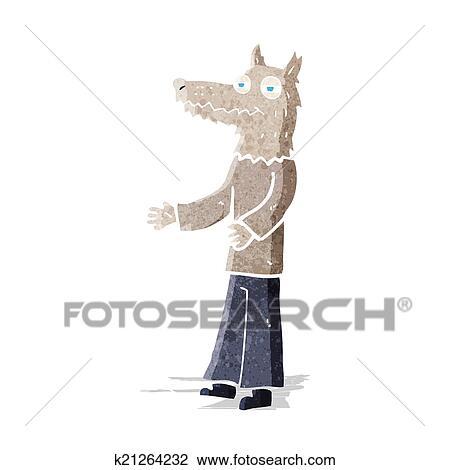 Clipart cartone animato uomo lupo k cerca clipart