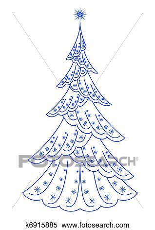 クリスマス もみの 木 Pictogram イラスト K6915885 Fotosearch
