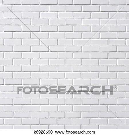 Banque Du0027Image   Brique Blanche, Mur. Fotosearch
