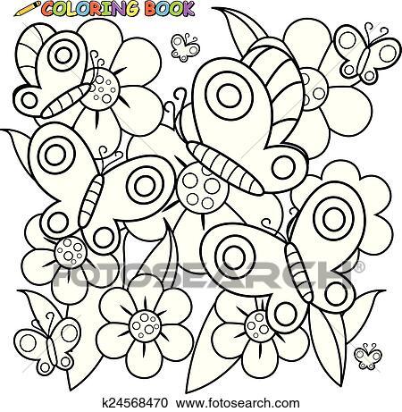 Fein Schmetterling Färbung Seite Bilder - Dokumentationsvorlage ...