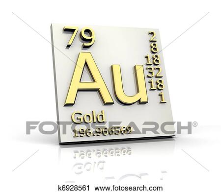 Clipart of gold form periodic table of elements k6928561 search clipart gold form periodic table of elements fotosearch search clip art illustration urtaz Image collections