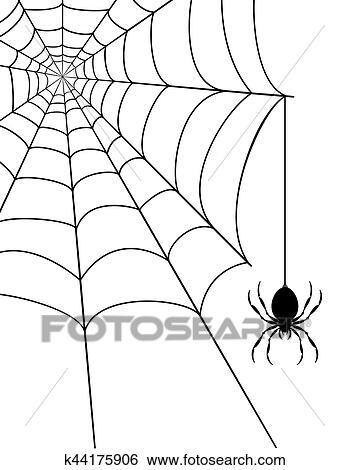 蜘蛛の巣 株イラスト イラスト K44175906 Fotosearch