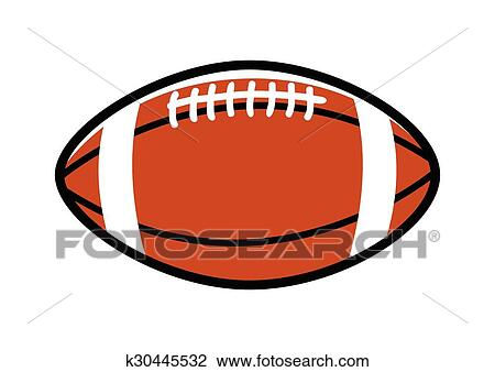 Rugby Ball Clipart K30445532 Fotosearch