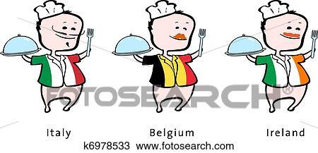 シェフ の レストラン から イタリア ベルギー アイルランド