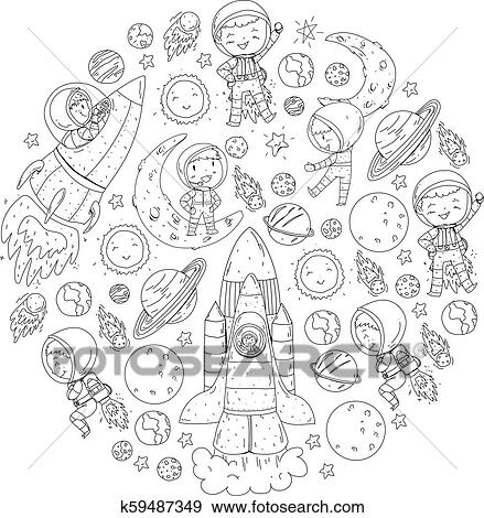 Sun And Moon Coloring Pages - GetColoringPages.com | 470x439