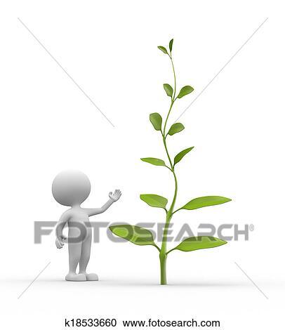 植物 クリップアート切り張りイラスト絵画集 K18533660