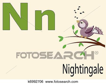 Image of: Alphabet Letter Animal Alphabet Fotosearch Clip Art Of Animal Alphabet K6992706 Search Clipart