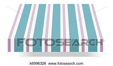 Storefront Awning Clip Art K6996326 Fotosearch